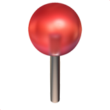emoji of a pushpin